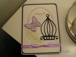 Butterfly Sympathy Card - Cricut Lite Bloom